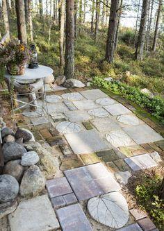 Gravel Garden, Garden Paths, Garden Tools, Outdoor Landscaping, Outdoor Gardens, Drought Resistant Landscaping, Outdoor Projects, Outdoor Decor, Garden Stepping Stones