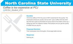 NC State student?  Click to comment on this grumble!