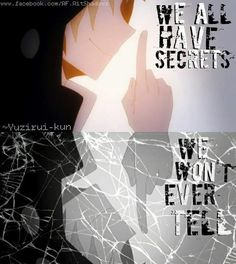 We all have these secrets.....the ones that we would rather die then tell anyone.