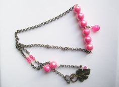 Neon BoHo Necklace ./. Pink Neon Necklace ./. by BijouxEmmElle