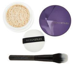 Fiona Stiles Finishing Powder w/ Brush — QVC.com