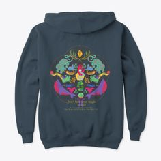 This hoodie is Made To Order, one by one printed so we can control the quality. If you're not satisfied, let us know and we'll make it right. Power Logo, Hoodies, Sweatshirts, Magic, Unisex, Printed, Simple, Fit, How To Make