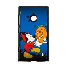 Halloween Mickey Holding A Pumpkin Case for Nokia Lumia 520