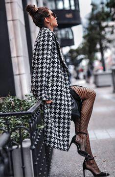 Winter Fashion Outfits, Look Fashion, Autumn Winter Fashion, Winter Outfits, Womens Fashion, Fashion Design, Autumn Coat, Fashion Coat, Winter Ootd