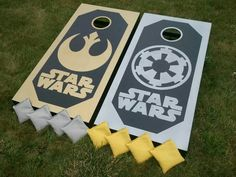 Star Wars Cornhole Set by 1daysale Custom Cornhole Boards Facebook.com/1daysale.cornhole