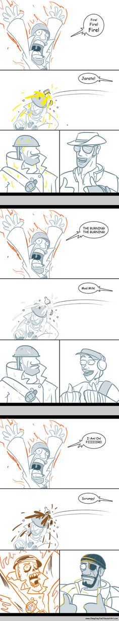 TF2: Doused by *SleepDepJoel on deviantART