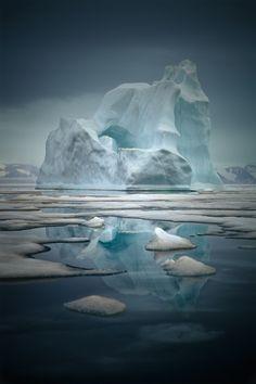 "libutron: ""Midnight in Greenland   ©Sebastian Copeland """