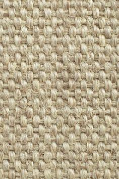 Agave Superior sisal rug in Snow colorway, by Merida.