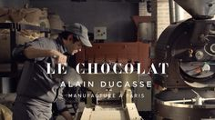 LE CHOCOLAT - Alain Ducasse. Built from an old Renault Garage in the center of Paris, near Place de la Bastille, Alain Ducasse's new chocolate factory that practices the traditional methods of chocolate making. From bean to bar, Manufacture à Paris takes a long and meticulous approach in creating carefully crafted sweets that bring shame to all others.