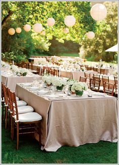 wedding paper divas green natural table scapes lanterns