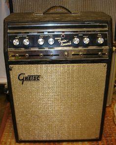 Vintage Gretsch Twin Reverb