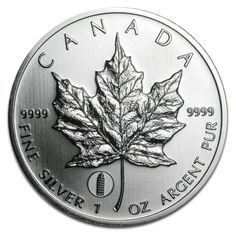 "Maple Leaf, Privy Mark ""Leaning Tower of Pisa"", 1oz Silver, 2012"