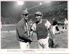 Love Johnny Bench!  Taken at his last game at Crosley Field. Remember his TV show on Saturday mornings?