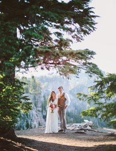 Oregon elopement with a Free People dress