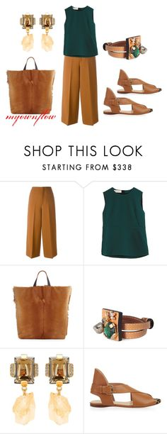 """""""INDIAN SUMMER"""" by myownflow ❤ liked on Polyvore featuring Marni and Francesco Russo"""