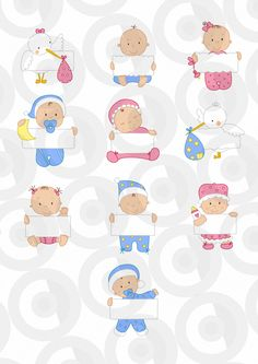 Bebés Felt Dolls, Baby Dolls, Moldes Para Baby Shower, Baby Girl Drawing, Scrapbook Bebe, Baby Looney Tunes, Baby Clip Art, Decoupage, Baby Wallpaper