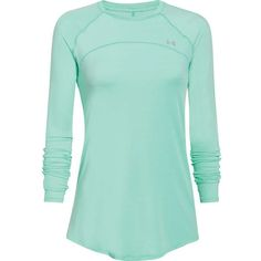 Under Armour Women's Sunblock 50 LS Top ($50) ❤ liked on Polyvore featuring activewear, activewear tops, under armour and under armour sportswear