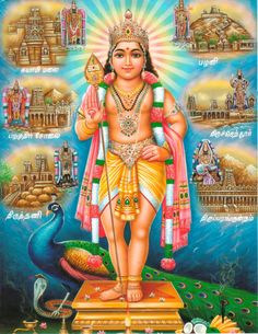 Lord Murugan - Hindu Posters (Reprint on Paper - Unframed) Hanuman Chalisa Mantra, Shri Hanuman, Lord Murugan Wallpapers, Saraswati Goddess, Actress Priya, Ganesh Images, Lord Shiva Family, Lord Shiva Painting, Hindu Deities