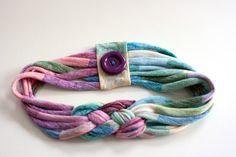 повязка на голову, как сделать повязку на голову своими руками, повязка на голову мастер класс