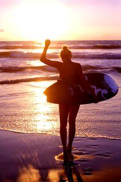 Surf - girls - summer ❤️   Learn kitesurfing with Addict www.addictkiteschool.com  