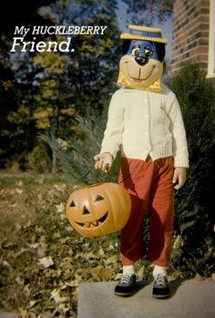 Vintage Huckleberry Hound costume