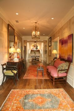 Hallway by Matthew Carter Interiors