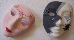 Kinderfeestje masker beschilderen en versieren met leuke dingetjes http://evelinashobbyboetiek.nl/index.php/ct-menu-item-7