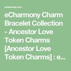 eCharmony Charm Bracelet Collection - Ancestor Love Token Charms [Ancestor Love Token Charms] : eCharmony.com Shield Charms, Vintage Enamel Travel Shield Charms