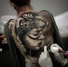 Stunning back piece by Matias Noble
