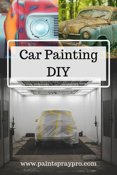 car painting Car paint spraying is easier than you think when you have the best car paint sprayer. For automotive painting, you need to have a paint gun capable of spraying your car like a pro. Car Paint Diy, Diy Paint Booth, Car Spray Paint, Car Paint Jobs, Truck Paint, Diy Car, Auto Paint, Automotive Spray Paint, Automotive Decor