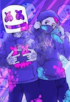 Mashmello y alan walker Graffiti Wallpaper, Music Wallpaper, Galaxy Wallpaper, Cool Wallpaper, Iphone Wallpaper, Best Gaming Wallpapers, Dope Wallpapers, Wallpaper Wallpapers, Marshmello Wallpapers