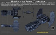 Sith Imperial Troop Transport ortho [2][New] by unusualsuspex on DeviantArt