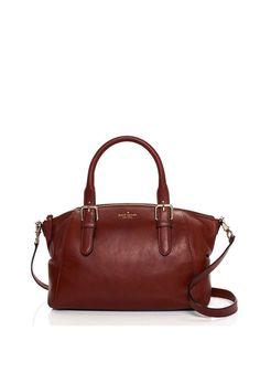 Kate Spade Brighton Park Leather Sloan Handbag Crossbody Brown NEW #katespade #SatchelrorCrossbodyBag