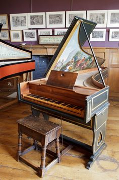 Piano Clave Clavicordio Spineta Virginal On Pinterest