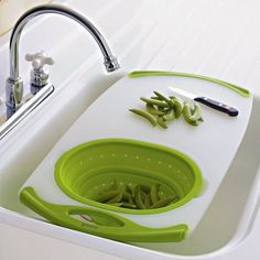 8. Over- the-sink Cutting Board | Space Saving Ideas For Your Studio Apartment