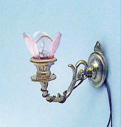 Electric Sconce | Mary's Dollhouse Miniatures
