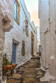 #Patmos unique side streets #Greece @VisitGreecegr