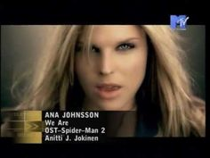 ▶ Ana Johnsson - We Are - YouTube