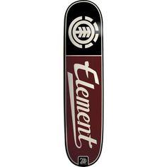 "Element Skateboards | Element Thriftwood 20 Year Script Skateboard Deck 7.75"" | Skateboards ..."