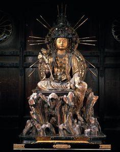 石山寺木造如意輪観音半跏像