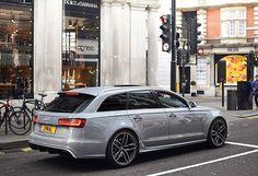 Nardogrey RS6 C7 in London via: @uj.photography