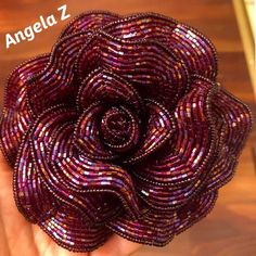 This French beaded Rose made from tiny seed beads, it's will made beautiful gift forever.the flower is long and rose is wide Highlights, French Beaded Flowers, Beads And Wire, Beading Patterns, Seed Beads, Roses, Trending Outfits, Unique Jewelry, Handmade Gifts