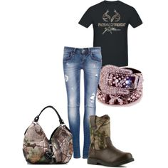 """""""more realtree"""" by amber-carroll88 on Polyvore"""