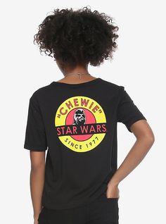 Star Wars Chewie Since 1977 Girls Crop Top