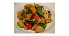 Recipe Chicken & Pumpkin Salad with Chickpeas by lisaarnold, learn to make this recipe easily in your kitchen machine and discover other Thermomix recipes in Main dishes - others.
