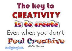 Key to creativity_robin Sharma