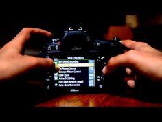 Nikon D7100 Tutorial. How to Tutorial Menu Set Up Guide Part 1 - YouTube