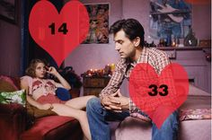 het leeftijdsverschil in de relatie van David en Melissa een jongere studente van hem