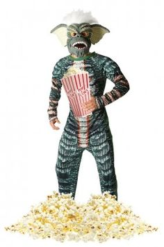 Amazon.com: GREMLINS STRIPE 80'S FILM GENTS MEN'S ADULTS FANCY DRESS PARTY HALLOWEEN COSTUME: Toys & Games