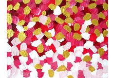 "Jennifer Latimer, Falling Rich Petals on OneKingsLane.com; 27""x36""; 199"